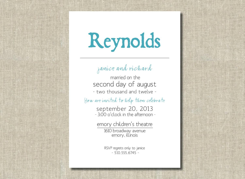 Wedding Renewal Invites was luxury invitations example