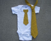 Father and Son Set- Adult Tie and Onesie