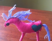 scrappy pink pony