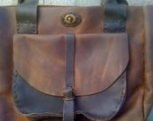 Leather tote for women handcrafted in NYC