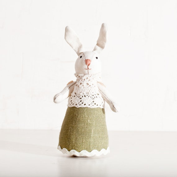 Rabbit handmade. Home Decor. Art. Decorative Toys For Room, Child's Room Decoration