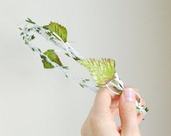 Birch 'Betula' - Woodland Hair Crown - Woodsy Bride - Bridesmaid - Rustic Weddings