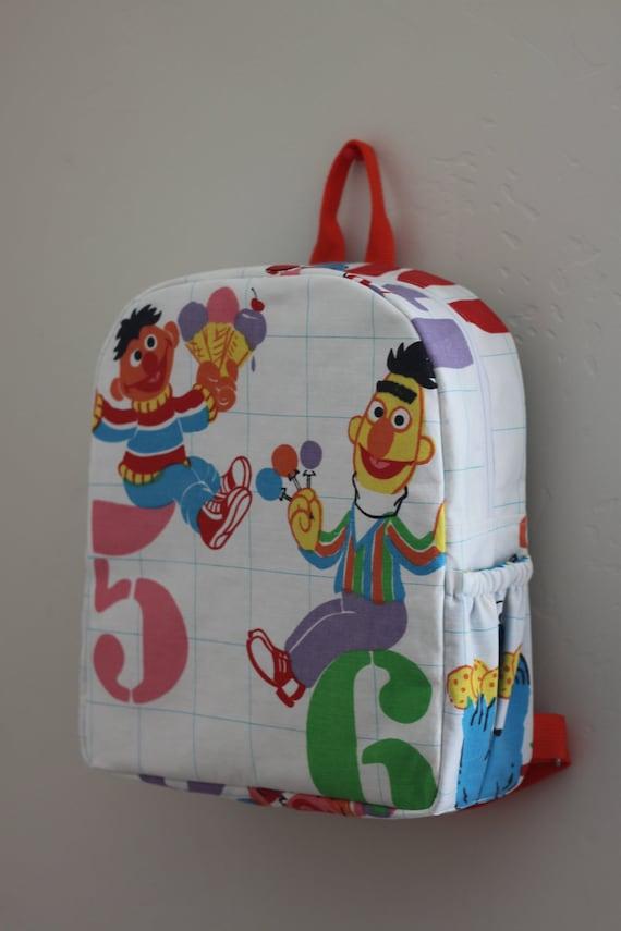 Toddler BackPack sesame street (Medium)