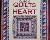 Quilts of the Heart by Fons and Porter Quilt book hardcover