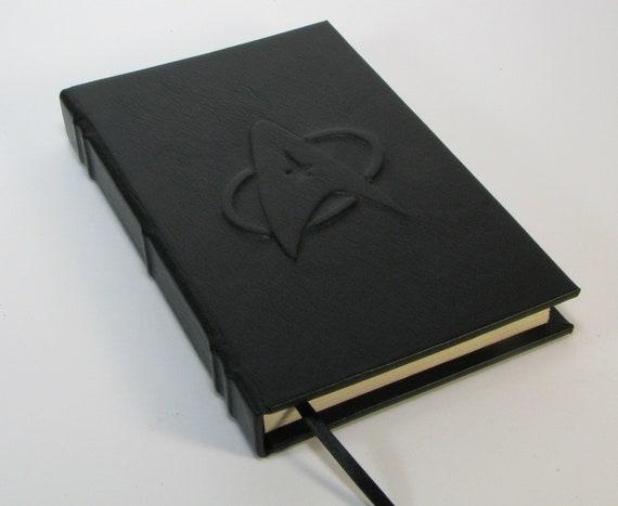 Leather Journal - Embossed Star Trek Logo