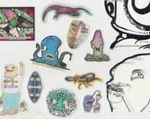 12 Original Stickers Value Pack