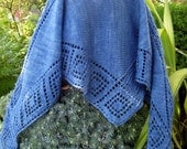 Pattern: Mergoum Shawlette Knitting Pattern (pdf)