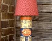 Tinkertoy retro desk lamp