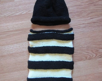 Knit Baby Bumblebee
