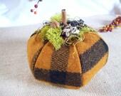 Rustic Woodland Pumpkin