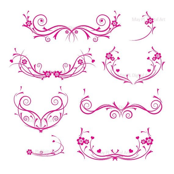Clip Art Borders Red