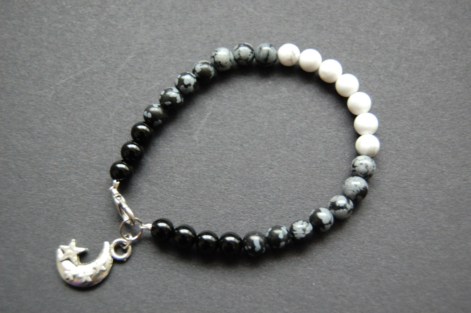 moon phases bracelet moon lunar phase cycle bracelet pagan wicca druid 9563