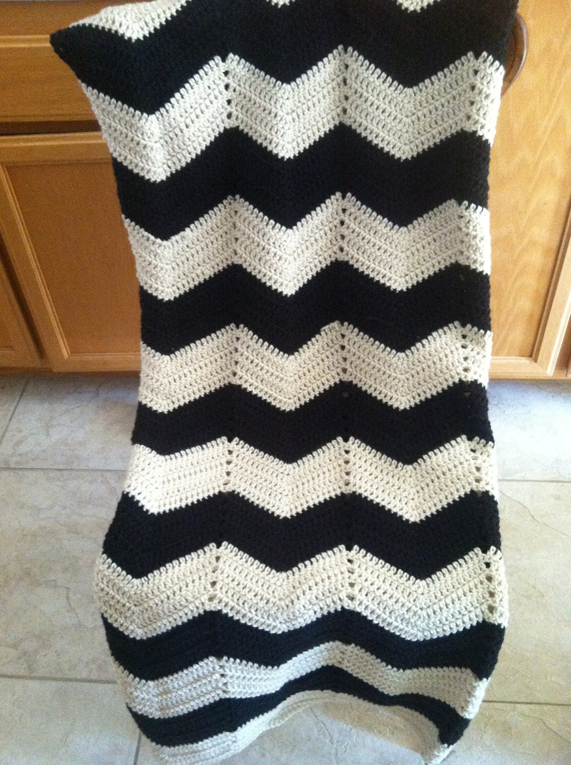 Crochet Blanket Black And White Black And White Crochet
