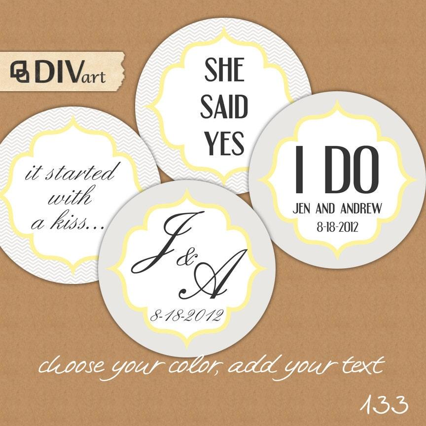 Free Printable Wedding Gift Tags: PRINTABLE 2 Wedding Favor Tags Gift Tags Thank You Tags By