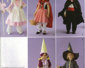 Simplicity Costume Sewing Pattern 0810 (aka 2571) - Toddler's Fantasy Costumes (.5-4)