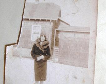 Edith Lillian Flapper Photo 1928 Fashion Story
