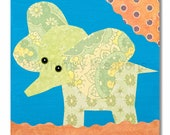 Children's Art, Nursery Art, Kids Decor, Nursery Wall Art, Baby Elephant Print