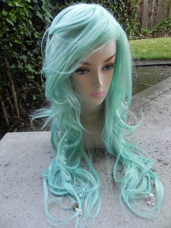 Curly Mermaid Wig Costume And Wigs