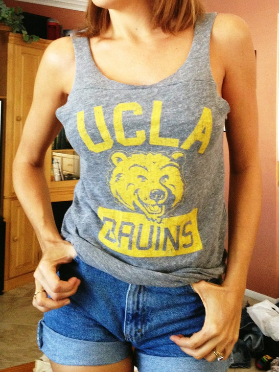 UCLA Tank Top / University of California Los Angeles T-shirt / UCLA Bruins Jersey Tee