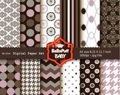 Buy 2 Get 2 Free ---- Digital Papers ---- Personal and Small Commercial Use ---- BB 0264