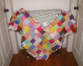 Baby boy or girl quilt-28-A