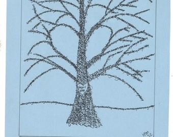 Name trees. Your name is the art work. 1000s of times, your name