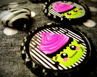 FrankenCake earrings