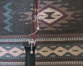 Dragonflies. Earrings