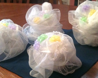Bridal Shower Table Bouquets - Set of 4
