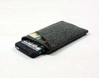 Felt iPhone 6 Plus iPhone 6 5S 5c 4s Sleeve Bag Pouch Case Wallet Samsung Galaxy s3 s4 S5 S6 Note 2 Note 3 Note 4 Wallet Cover Sleeve E1613