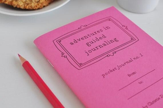 Pocket Journal no. 1 - Pink Cover