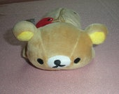 Rilakkuma pencil case plush to hold your craft supplies