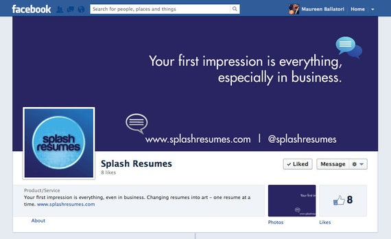 Custom Design Facebook Timeline, Twitter Background and Pinterest Profile Pic - Social Media