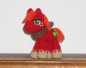 Big Macintosh Crochet Plush