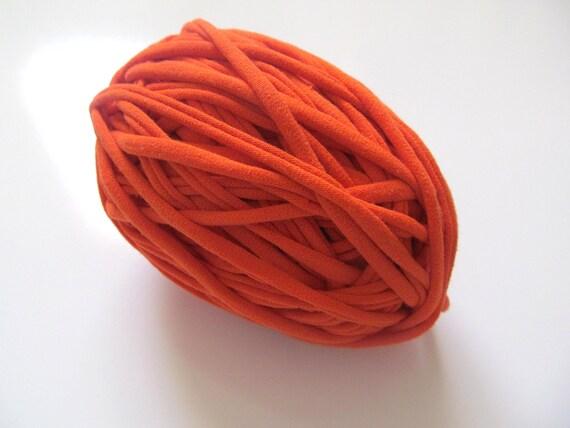 Orange T-Shirt Yarn 44 Yards 4.5 WPI