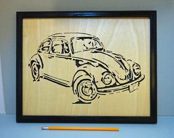 VW  - Framed
