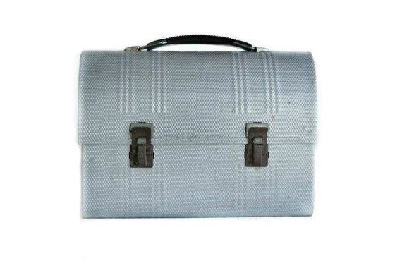 Vintage Lunch Box - Back to School - Metal Lunch Pail