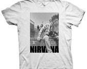 Nirvana Ringspun T-Shirt Size S-XL