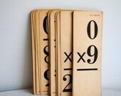Vintage Ephemera Multiplication Cards-Set of 15