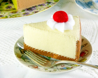 Cherry Cheesecake Play Food