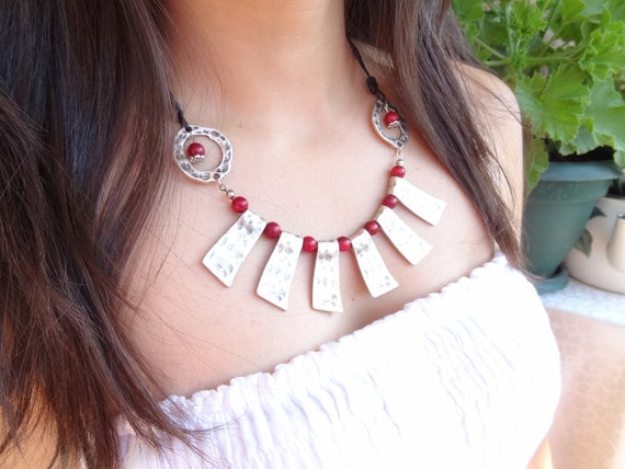 Reserved Red Coral Necklace