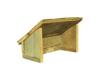 Manger Barn, Nativity Barn, Wood Nativity Stable, Chrsitmas Creche