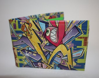 Graffiti Duct Tape Wallet