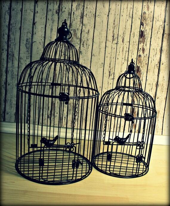Birdcage wedding card holder-Medium birdcage-Unique metal birdcage-Wedding Card Box-Card holder