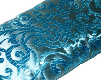 Lavender Eye Pillow - Blue Brocade