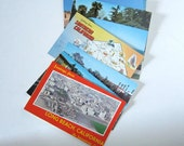 Vintage 1950s Travel Postcard Pack