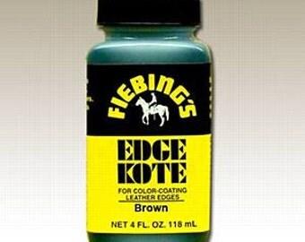 Brown Fiebings Edge Kote 4oz #34-222601