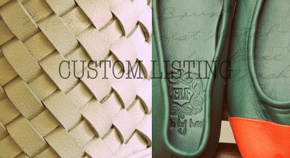 Custom listing for Erica. MUSE.