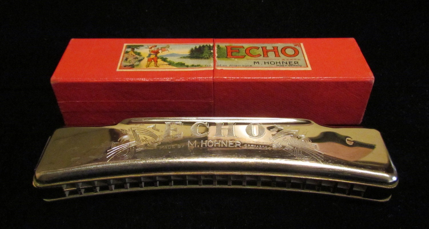 VINTAGE HOHNER HARMONICA 16 PAGE INSTRUCTION BOOKLET SONGS OF THE BLUE and GREY