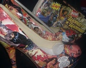 Wonder Woman Heel & clutch combo.